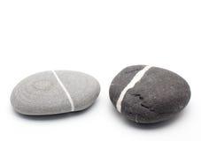 Duas pedras Fotos de Stock Royalty Free