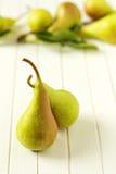 Duas peras maduras Imagens de Stock