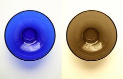 Duas placas vitreous Fotos de Stock