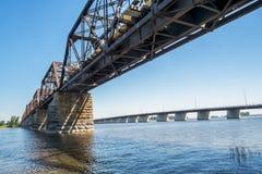 Duas pontes Fotos de Stock Royalty Free