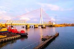 Duas pontes Fotografia de Stock Royalty Free