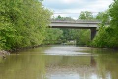 Duas pontes foto de stock