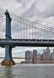 Duas pontes em New York Fotografia de Stock