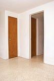 Duas portas e uma entrada aberta Fotografia de Stock Royalty Free