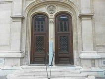 Duas portas velhas Foto de Stock
