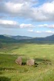 Duas rochas solitárias Foto de Stock Royalty Free