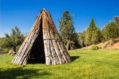 Duas tendas indianas americanas Foto de Stock Royalty Free