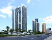 Duas torres do recurso do trunfo em Florida Foto de Stock Royalty Free