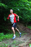 Duathlon - бежать этап Стоковое Фото