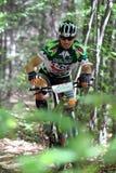 Duathlon - велосипед этап Стоковые Изображения RF