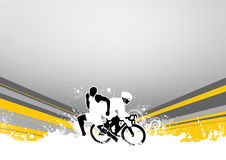 Duathlon Royalty Free Stock Photos