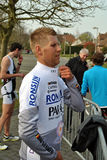 Duathlon champion Joeri Vansteelant Royalty Free Stock Photo