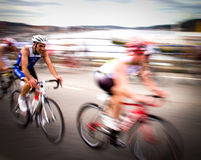 Duathlon championship Royalty Free Stock Photography