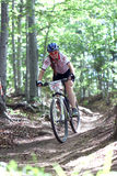 Duathlon - MTB woman Royalty Free Stock Photo