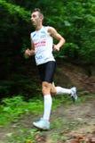 Duatlon Tara Barsei - correndo Fotografie Stock