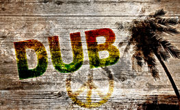 Dub graffiti Royalty Free Stock Images