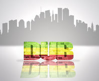 Dub in town Royalty Free Stock Image
