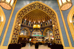 Dubaï, EAU, centre commercial de Battuta, novembre 2015 Photographie stock libre de droits