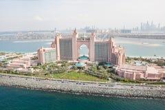 Dubaï, EAU. Hôtel de l'Atlantide de ci-avant Image libre de droits