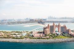 Dubaï, EAU. Hôtel de l'Atlantide d'en haut Image libre de droits