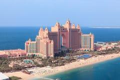 Dubaï, EAU. L'Atlantide d'en haut Photographie stock