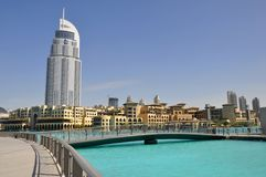 Dubaï, hôtel d'adresse Images stock