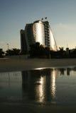 Dubaï, hôtel de plage de Jumeirah Image libre de droits