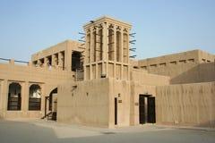 Dubaï. Le musée d'Al Maktoum de cheik Saeed Photo libre de droits