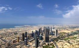 Dubaï. World Trade Center Image libre de droits