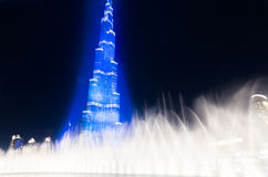 Dubaï célébrant l'accueil de l'expo 2020 Photo stock