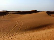 Dubai öken Royaltyfri Bild