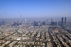 DUBAI Aerial view Stock Photo