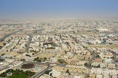 Dubai aerial view Royalty Free Stock Image