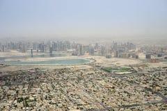 Dubai aerial view Royalty Free Stock Photography