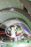 Dubai Airport entrance Stock Image