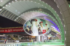 Dubai Airport entrance Royalty Free Stock Images