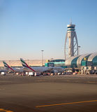Dubai airport Royalty Free Stock Images