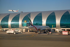 Dubai airport Stock Images