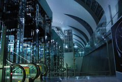 Dubai airport interior Royalty Free Stock Image