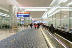 Dubai airport interior Stock Photography