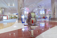 Dubai airport interior Royalty Free Stock Photos