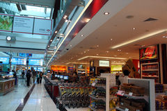 Dubai Airport Terminal 3 duty free Stock Images