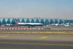 Dubai Airport Royalty Free Stock Photography