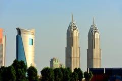 Dubai. Al Kazim towers Stock Image