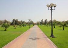Dubai Al Mamzar parkerar 1 Royaltyfri Foto