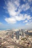 Dubai-Ansicht stockfotos