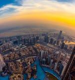 Dubai-Ansicht stockfotografie