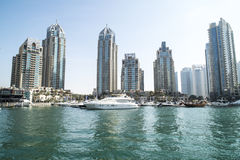 Dubai apartments and flats Stock Image