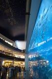 Dubai Aquarium at Dubaimall Stock Photography