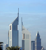 Dubai architecture, united arab emirates Stock Photography